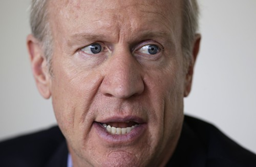 Republican gubernatorial candidate Bruce Rauner has ties to a company that makes money by punishing poor people for minor criminal violations.