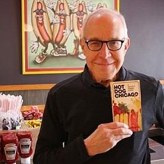 Rich Bowen, co-author of Hot Dog Chicago
