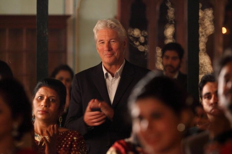 Richard Gere in The Second Best Exotic Marigold Hotel