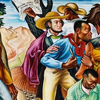 """""""Rising Up"""": Hale Woodruff's murals on a northern tour"""
