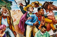 """Rising Up"": Hale Woodruff's murals on a northern tour"