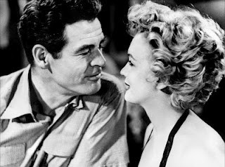 Robert Ryan and Marilyn Monroe in Fritz Langs Clash by Night (1952)