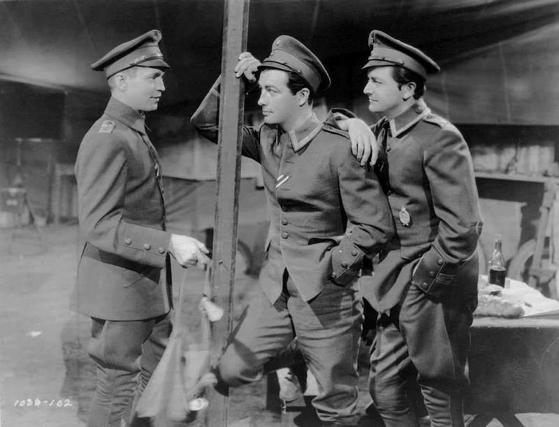 Robert Taylor, Frachot Tone, and Robert Young play the title characters.