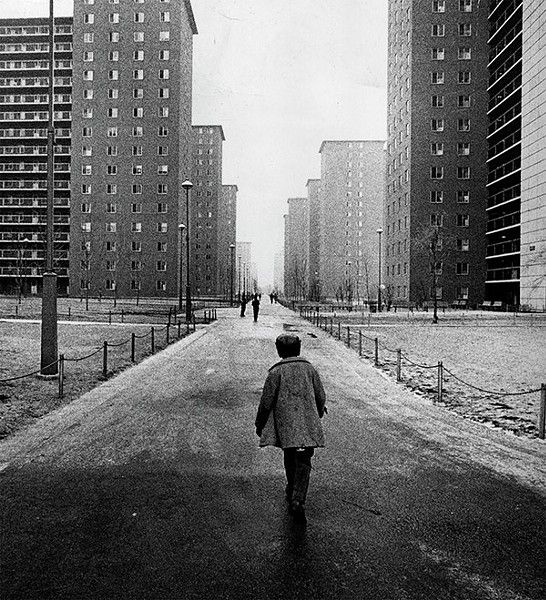 Robert Taylor Homes, 1965. Most of Chicago's housing projects have been demolished, but segregation persists on the south and west sides. - SUN-TIMES FILES