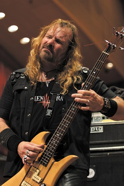 Ron Holzner of Earthen Grave played with Chicago doom-metal band Trouble from 1986 to 2002 - ED SPINELLI