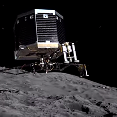 Rosetta will land on a comet tomorrow.