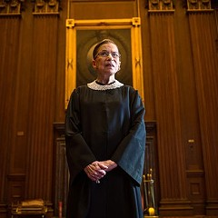 Ruth Bader Ginsburg doesn't have time for your shit