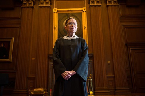 Ruth Bader Ginsburg doesnt have time for your shit