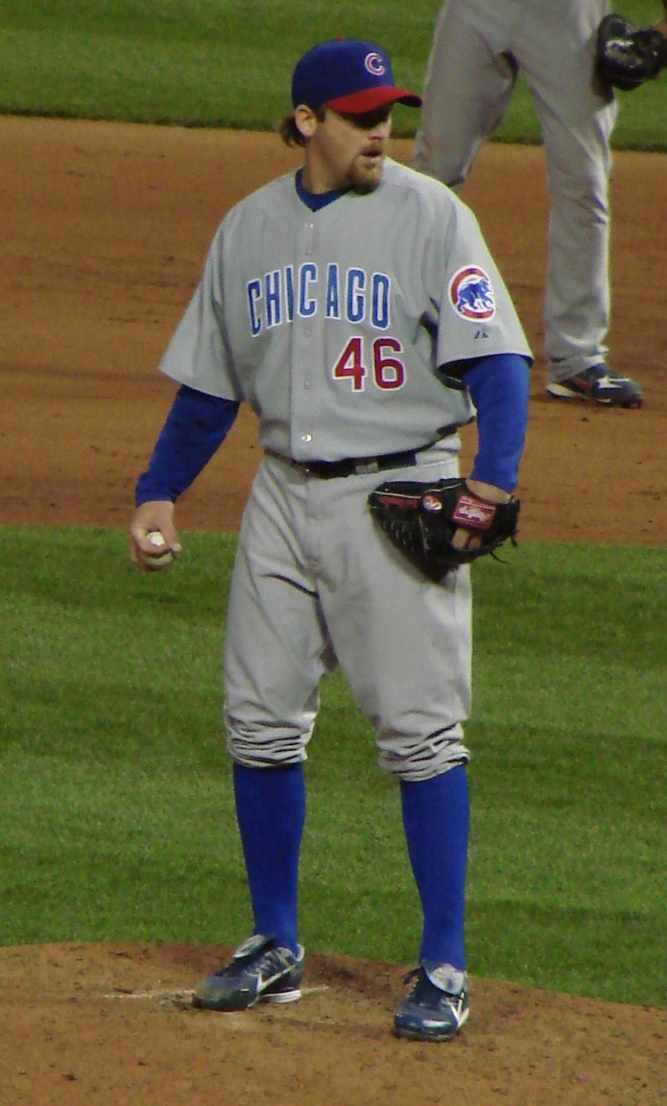 Ryan Dempster was a road warrior for the Cubs Tuesday to get them both off the skids.