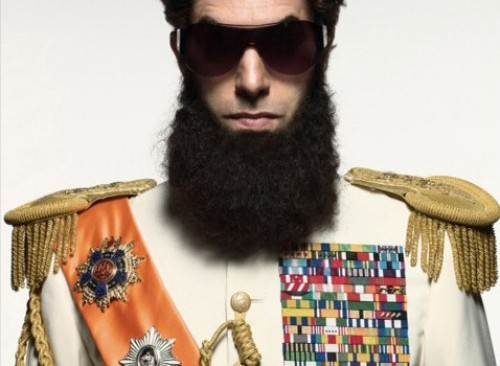 Sacha Baron Cohen stars in The Dictator