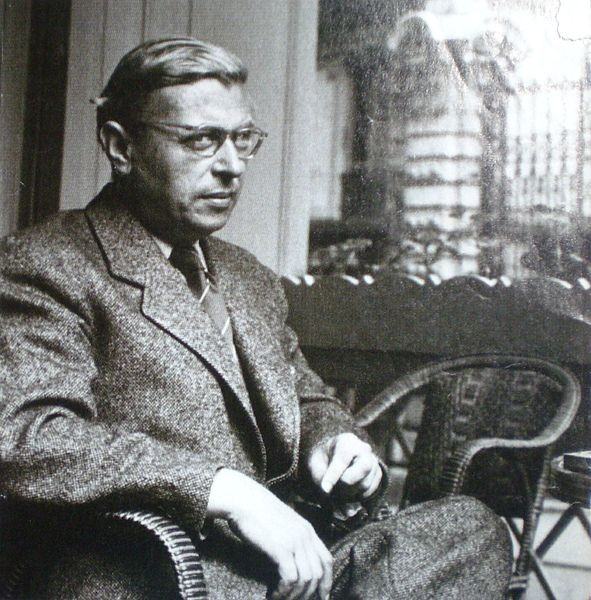 Sartre, now blogging.