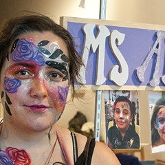 Show us your . . . roaming face-painting cart