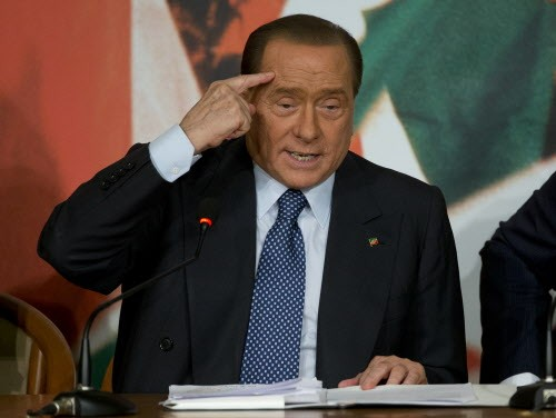 Silvio Berlusconi shouldnt have let it all go to his head.
