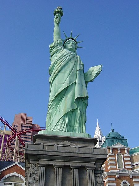 Sin Citys Lady Liberty