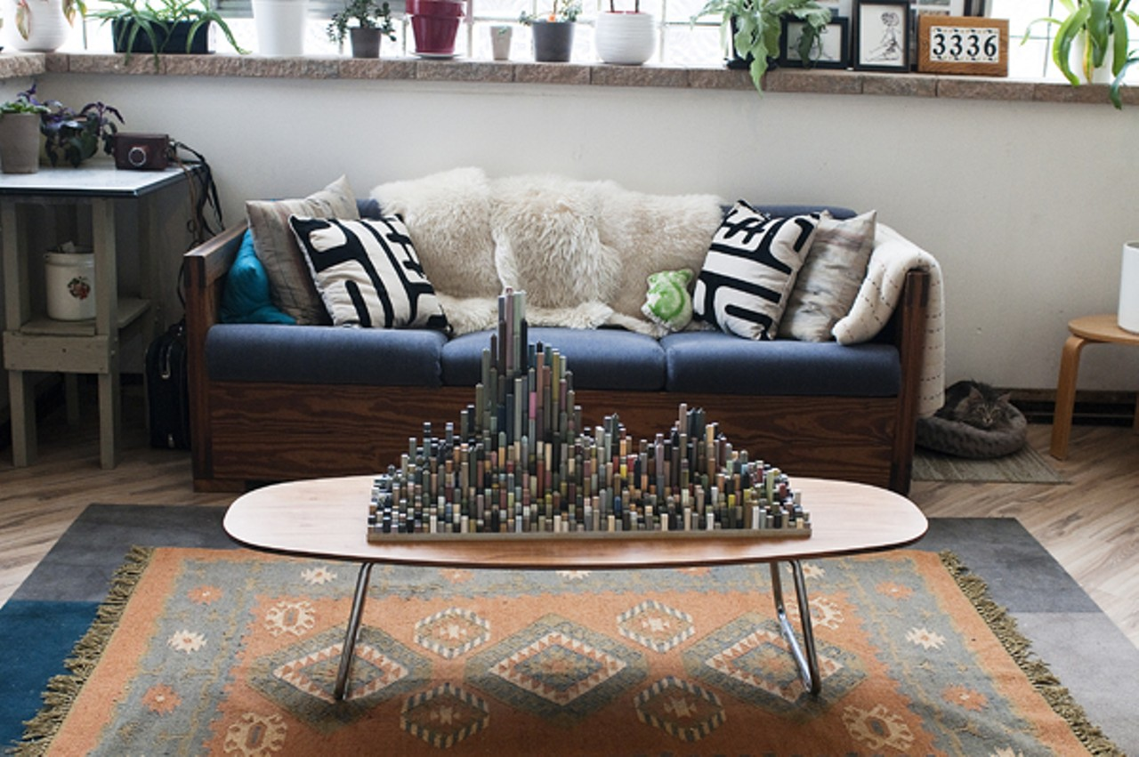 An interior designer transforms a former tavern into a home skyline sculpture by paul erschen andrea bauer geotapseo Choice Image