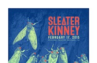 Sleater-Kinney creates a buzz on this week's gig poster