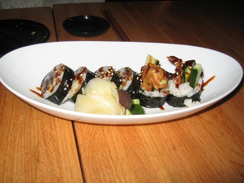 Soft-shell crab maki: get it while you can
