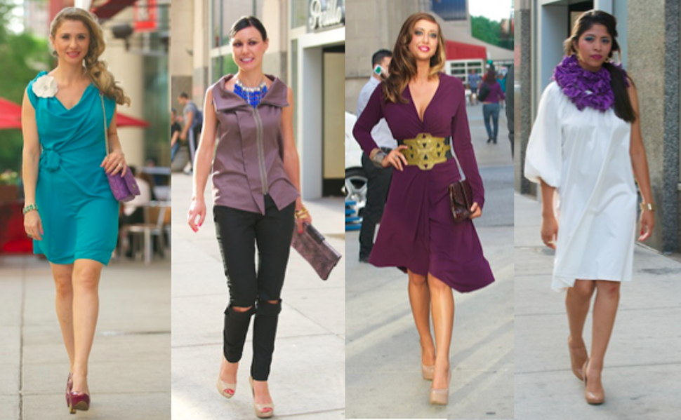 Some looks from Tel Aviv Couture, which is having a photo shoot and trunk show Friday afternoon