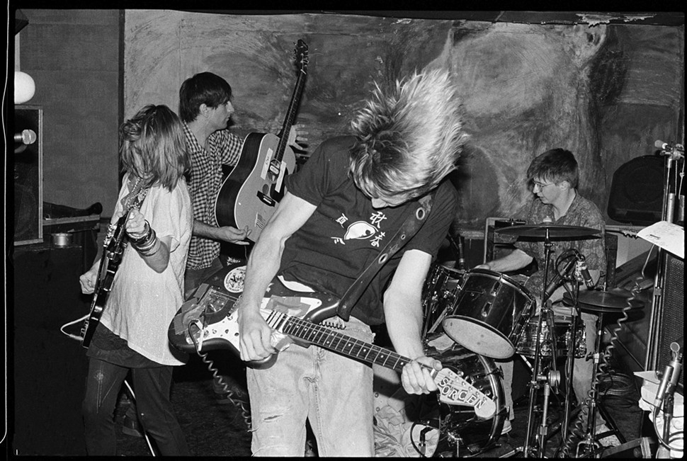 Sonic Youth live at Smart Bar, 1985