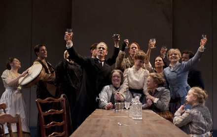"Souls swoon slowly in Court Theatre's James Joyce's ""The Dead""."