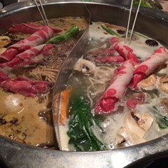 Special Hot & Spicy (ma la) and Mongolian herbal, Little Lamb Hot Pot
