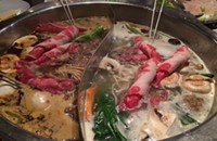 Conan, what is best in life? Chinatown's Little Lamb Hot Pot