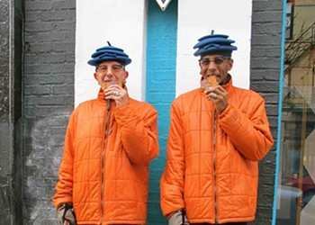 Spotted in Wicker Park: A couple who've dressed alike for 20 years