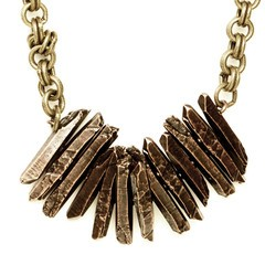 Stacked crystal necklace from Luv Aj, $220