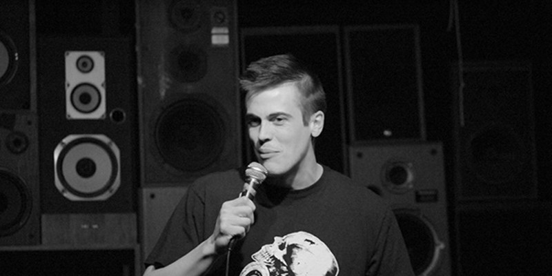 Stand-up comedian Jeff Steinbrunner