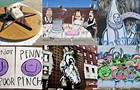 Street artists peek out from the shadows