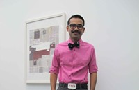 Street View 074: Ricardo looks dapper in pink at the MCA