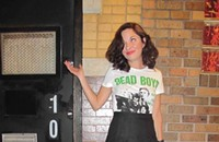 Street View 129: Good old band tee at the Empty Bottle