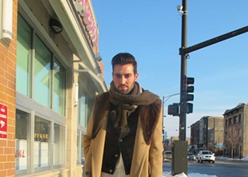 Street View 166: Chic and hip in a fur-collared coat