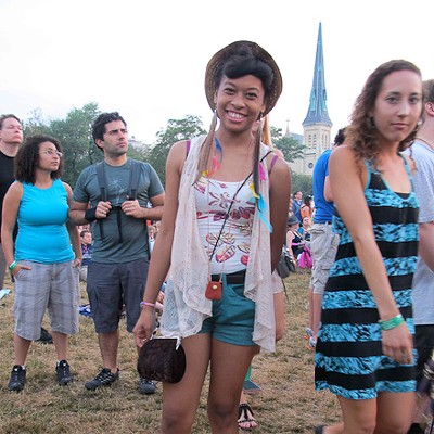 Street View: Pitchfork Music Festival