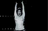 The origins of the striptease and burlesque
