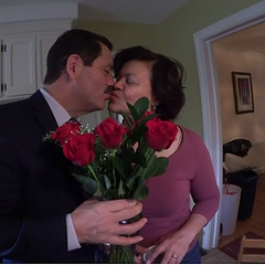 Stump Connolly captures a man who kissed his wife, in Chicago, running for mayor