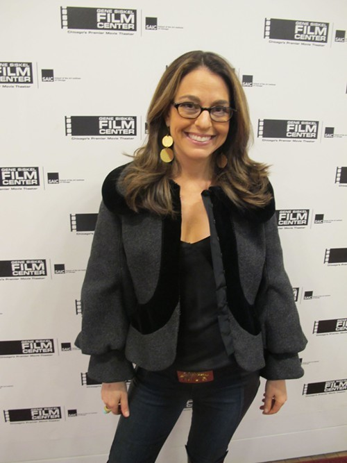 Style expert and TV personality Amy Tara Koch, who mediated the Skype talk with Ari Seth Cohen after the movie.