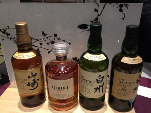Suntory whiskies at WhiskyFest