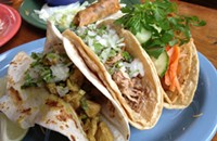 Tacos unmastered at Si Fu Chino Latino Kitchen