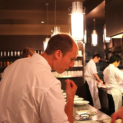 In the kitchen for Next Bocuse d'Or