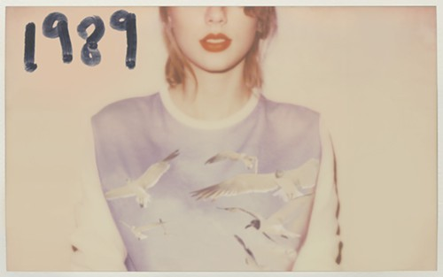 A promotional image for Taylor Swift's album 1989