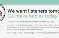 WBEZ's spring ad campaign: You've come a long way, babies