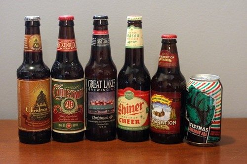 Christmas Beer.The 15 Beers Of Christmas Or Are They Beers Of Winter Bleader