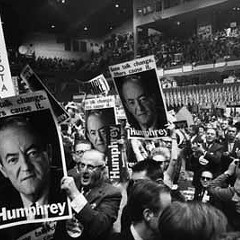 The 1968 Democratic National Convention in Chicago