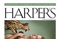 Writing about a controversial <em>Harper's</em> cover in the style of the Harper's Index