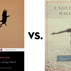 The Adventures of Augie March vs. I Sailed with Magellan: Greatest Chicago Book Tournament, round one