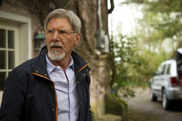 Harrison Ford, looking like a beloved pet goat, is the heart and