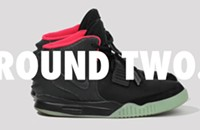 To the brave go the Air Yeezy 2s