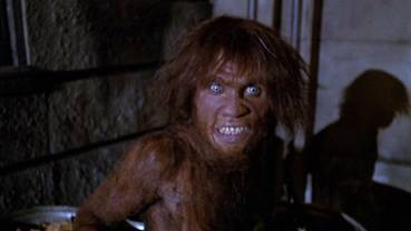 The ape man from Altered States