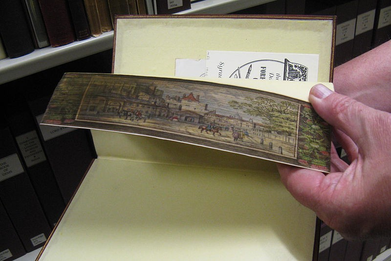 The art of the fore-edge
